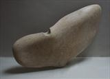 Wing Fin Thing by Matthew Ruscombe-King, Sculpture, Ancaster Stone